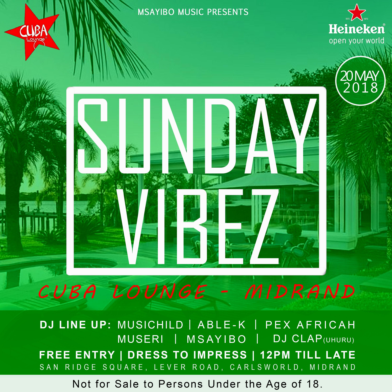 2018-05-20 Sunday Vibez Poster [Heineken]