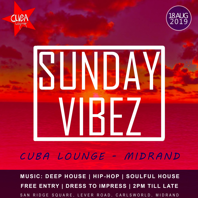 2019-08-13 Sunday Vibez Poster