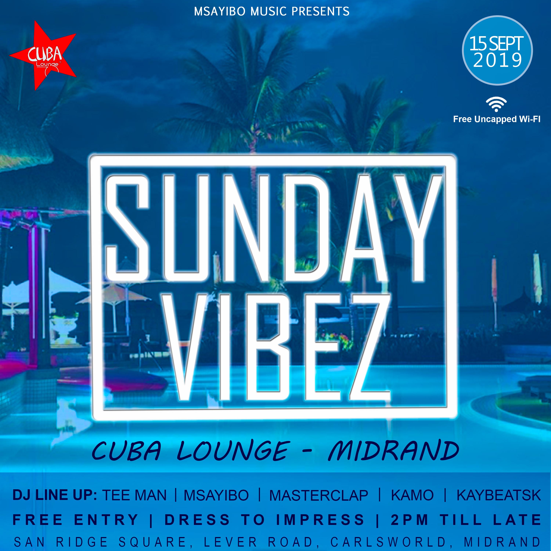 2019-09-15 Sunday Vibez Poster